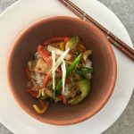 Hoisin Chicken with Baby Bok Choy