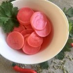 Crisp Pickled Radishes | cookglobaleatlocal.com