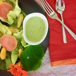 Rich and Creamy Green Goddess Dressing | cookglobaleatlocal.com