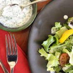 Fresh, Tangy Ranch Dressing from Scratch | cookglobaleatlocal.com