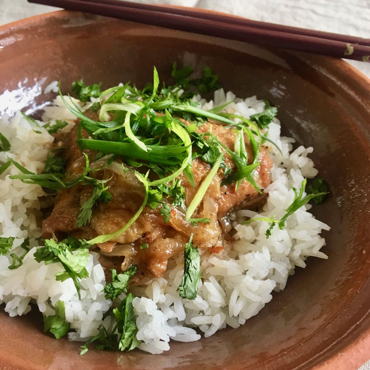 Easy Instant Pot™ Vietnamese Caramelised Ginger Chicken