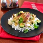 Mombasa Style Baked Chicken Curry with Vegetables | cookglobaleatlocal.com