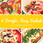 4 Great Salads to Make the Most of Seasonal Tomatoes | cookglobaleatlocal.com