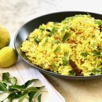 Lemon Rice Pilaf from the Instant Pot™, A Quick Delicious Side | cookglobaleatlocal.com