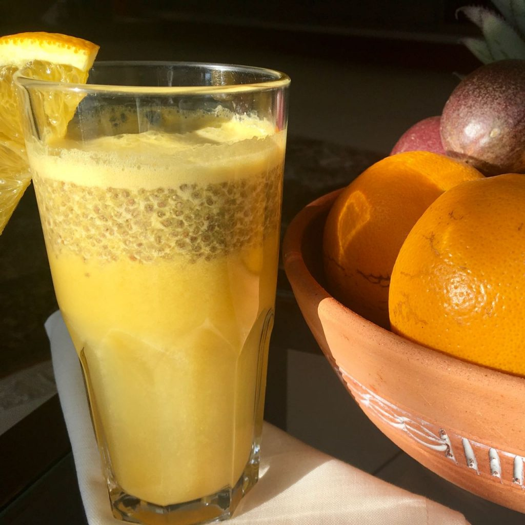Immune Boosting Juice with Winter Fruits