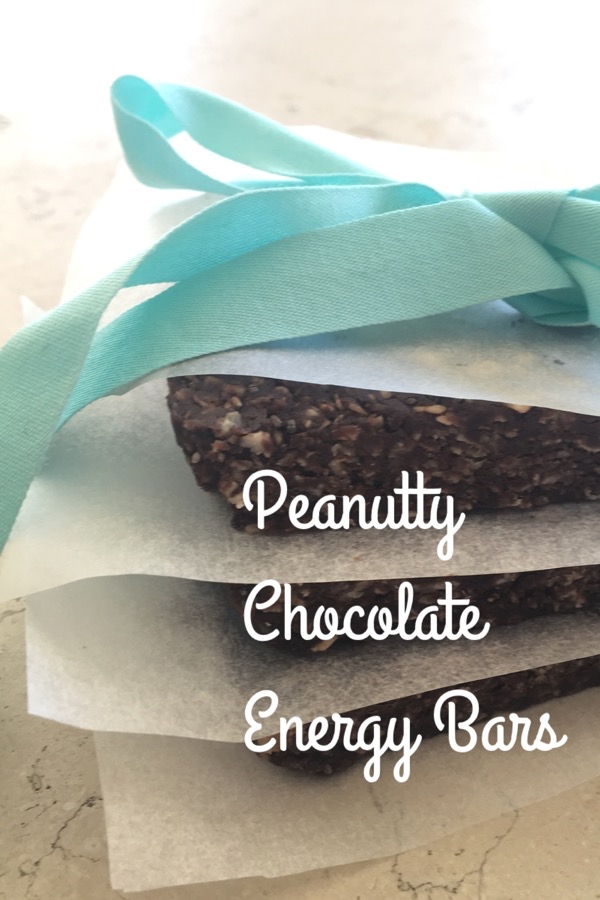 Peanutty Chocolate Energy Bars