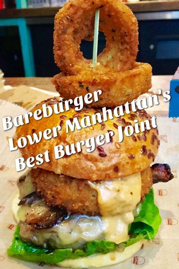 Bareburger, Small Town Feel in Lower Manhattan | cookglobaleatlocal.com