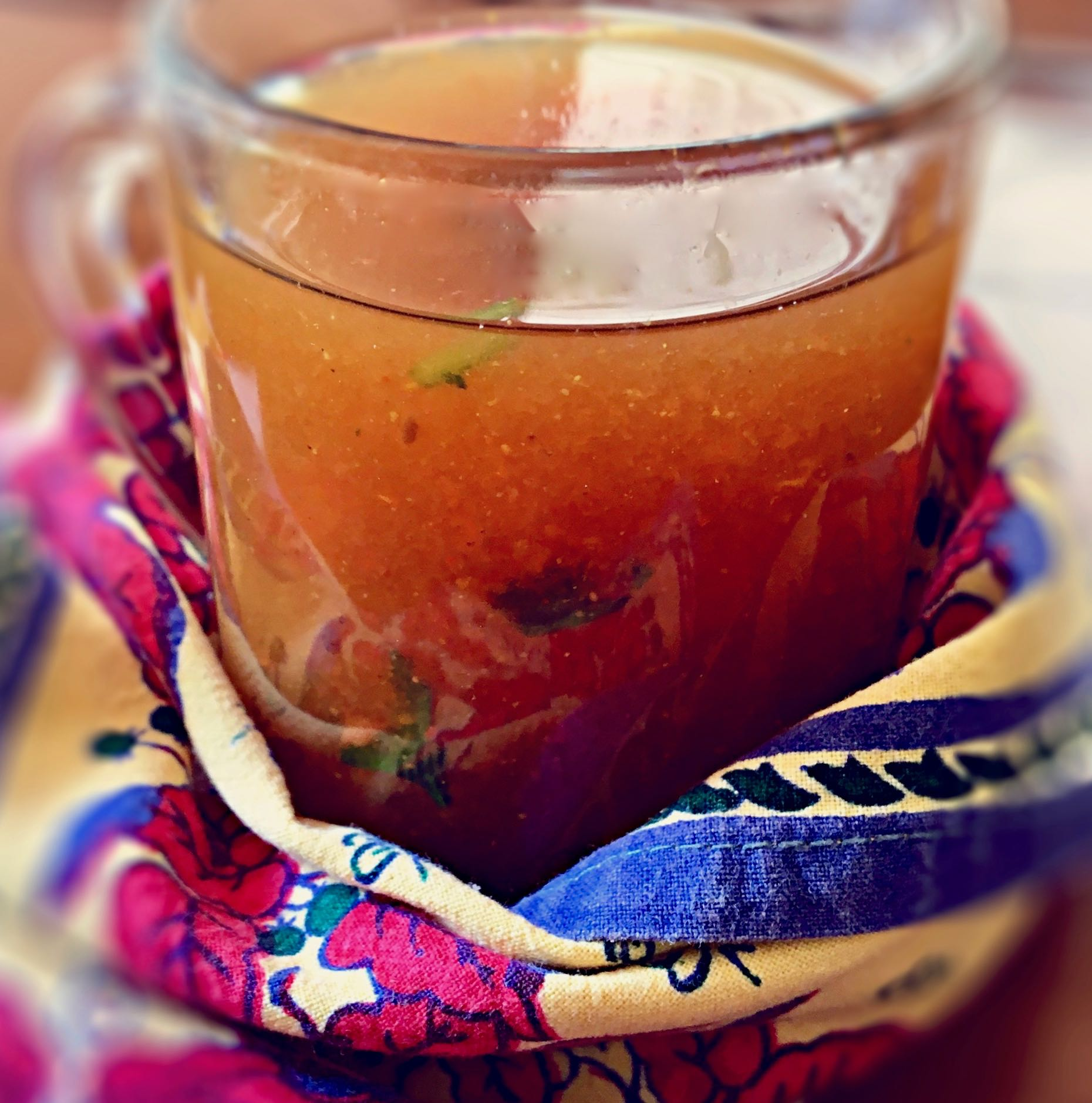 Healing South Indian Tomato Rasam