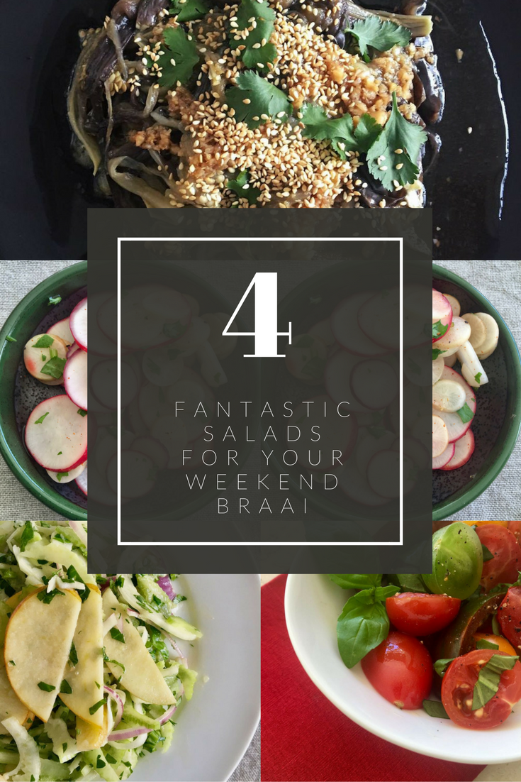 4 Fantastic Salads for Your Weekend Braai | cookglobaleatlocal.com