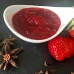 Spicy Small Batch Strawberry Jam | cookglobaleatlocal.com