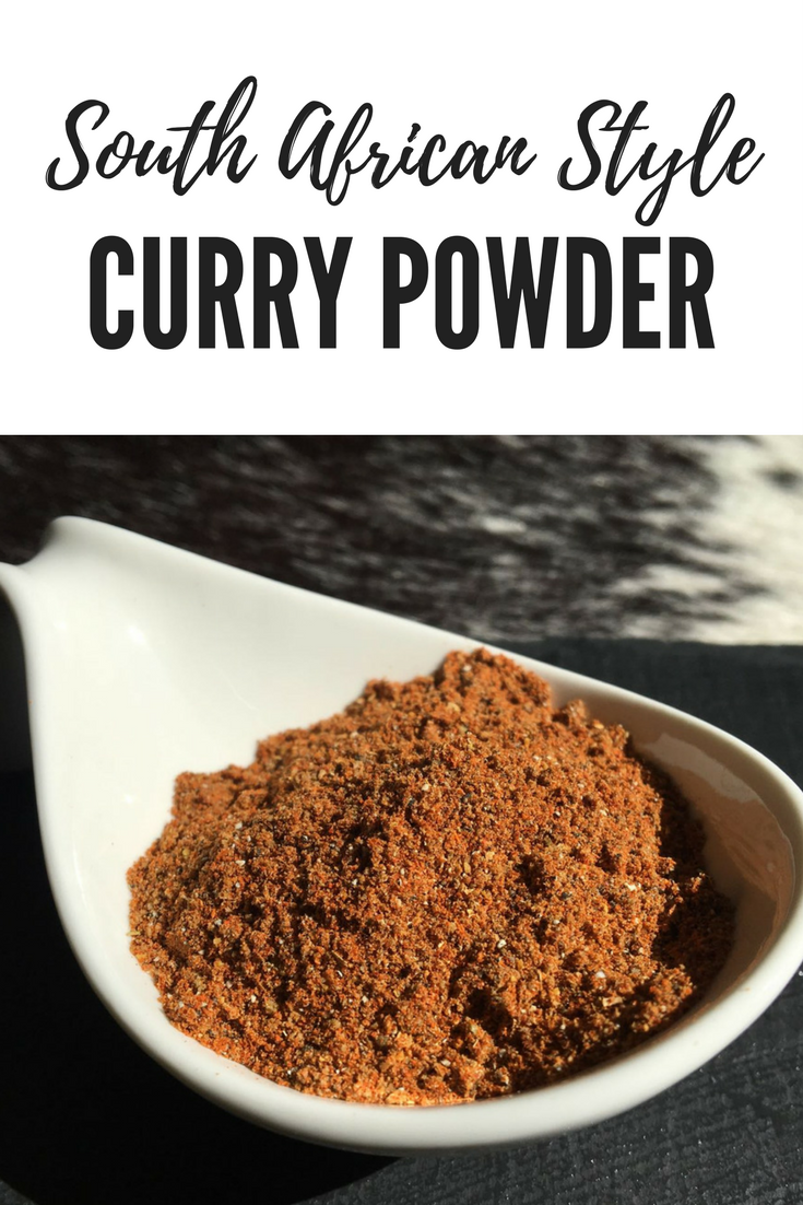South African Style Curry Powder | cookglobaleatlocal.com