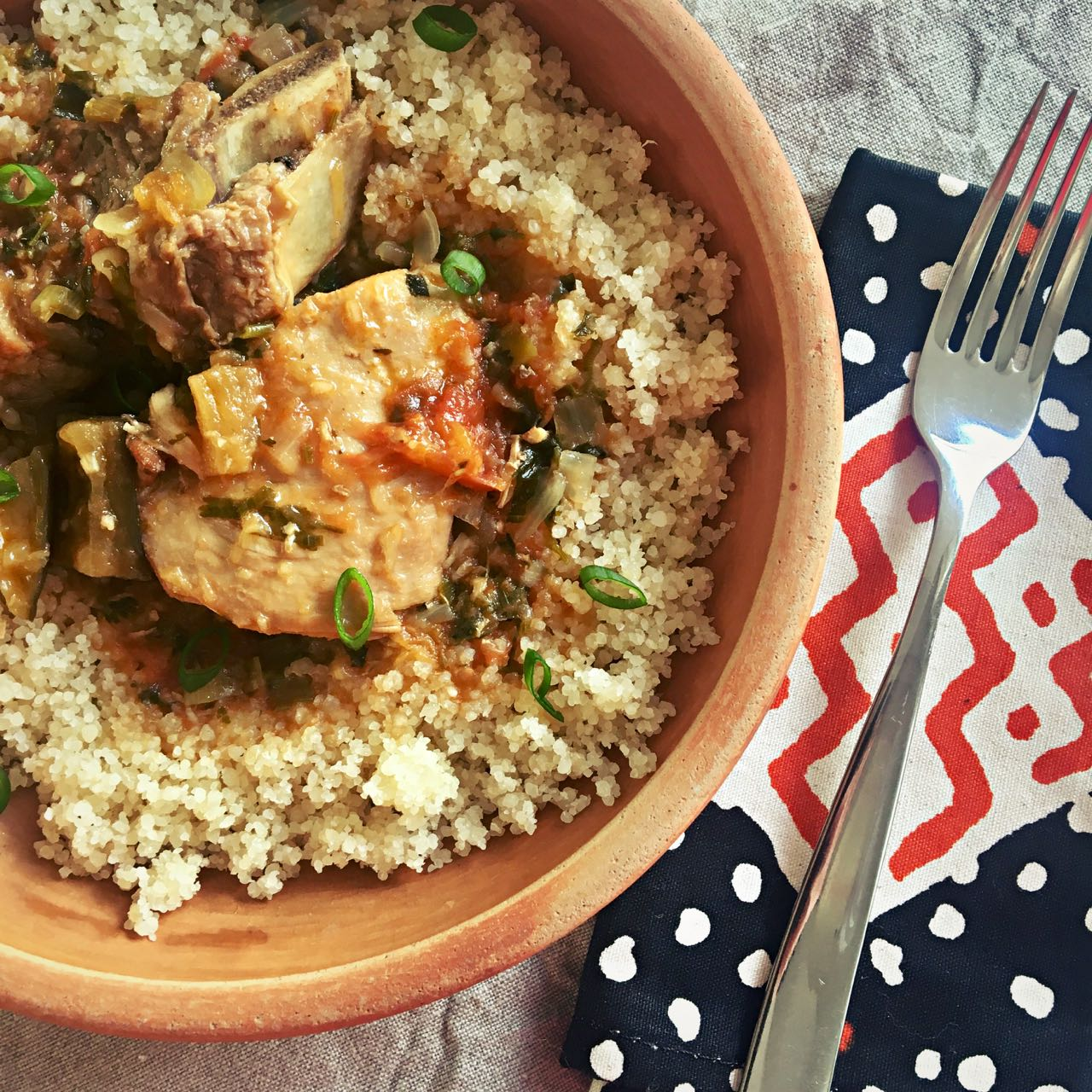 Kedjenou, Fragrant Chicken Tagine from Côte d'Ivoire