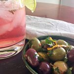 Tangy Fennel and Orange Marinated Olives | cookglobaleatlocal.com