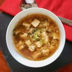 Warming Chinese Hot and Sour Soup | cookglobaleatlocal.com