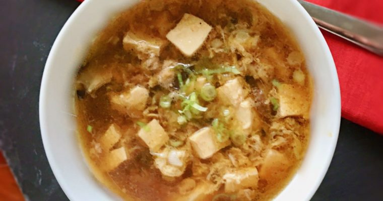 Warming Chinese Hot and Sour Soup