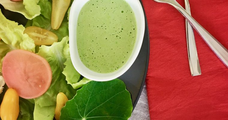 Rich and Creamy Green Goddess Dressing