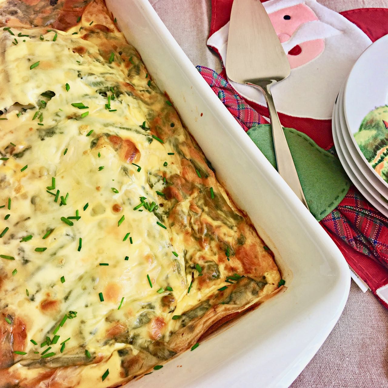 Hearty, Make Ahead Christmas Breakfast Strata