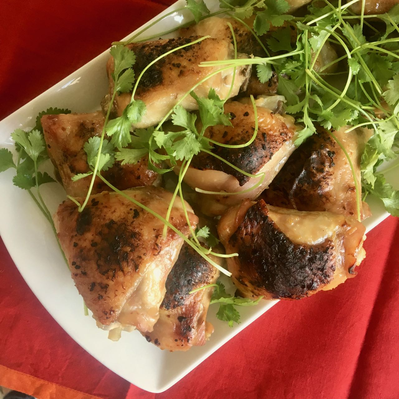 Zippy, Oven Baked Vietnamese Chicken