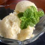 3 Ingredient, Sugar Free, No Churn, Vegan Piña Colada Sorbet