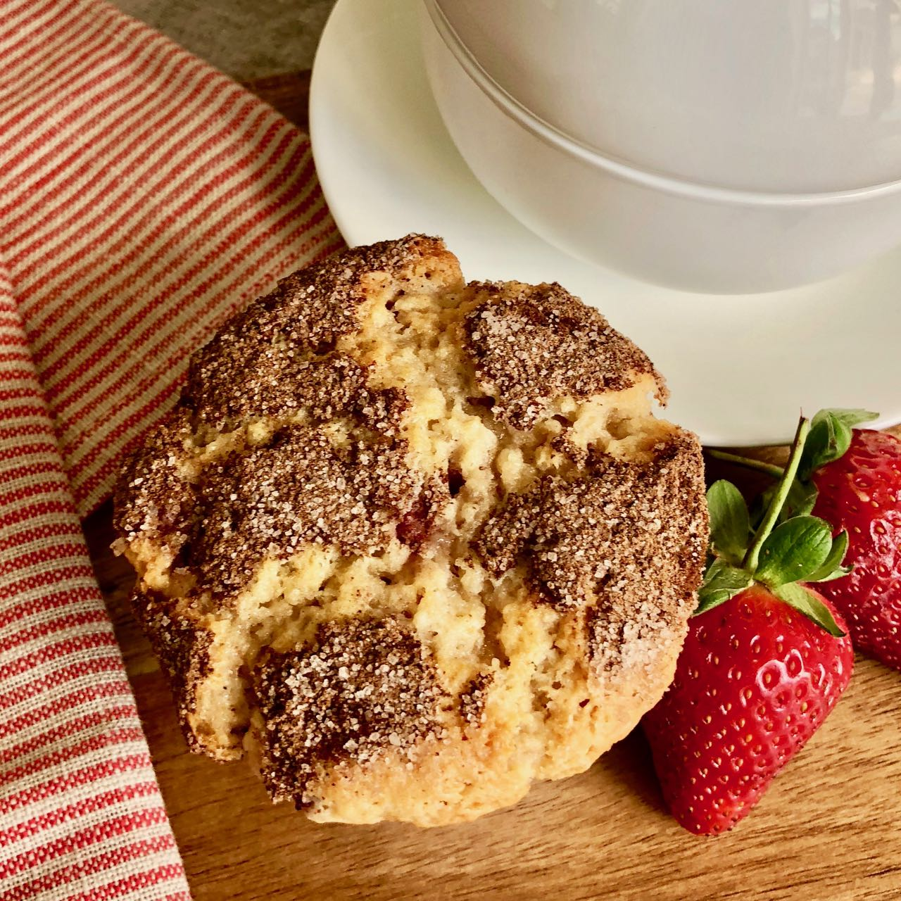 Strawberry Muffins, A Recipe From Southern Country Cooking