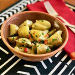 Easy Instant Pot™ Peppadew® Potato Salad | cookglobaleatlocal.com