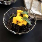 Fragrant Tropical Black Rice Pudding from the Instant Pot™ | cookglobaleatlocal.com
