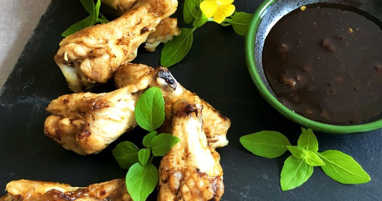 Succulent Chutney-Glazed Air Fryer Wings