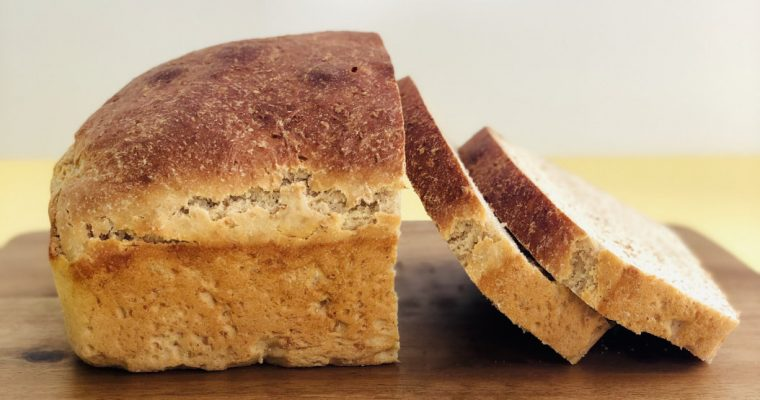 Whole Wheat Bread from Scratch
