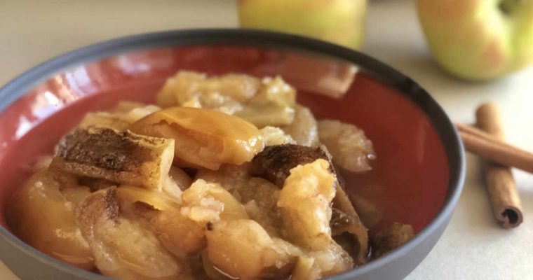 Instant Pot™ Stewed Apples | cookglobaleatlocal.com
