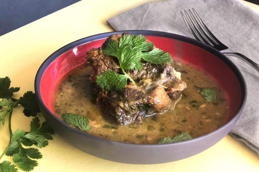 Caribbean Oxtail Stew from the Instant Pot™ | cookglobaleatlocal.com