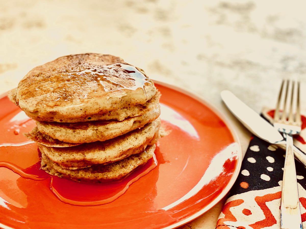 Easy, Shelf-Stable Vegan Pancake Mix