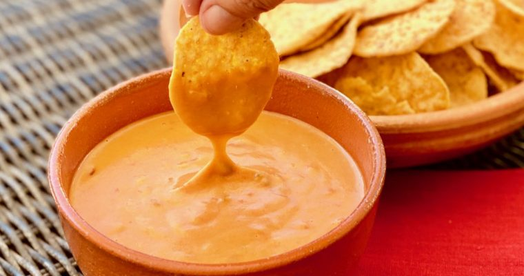 Easy, Healthy, Vegan Queso