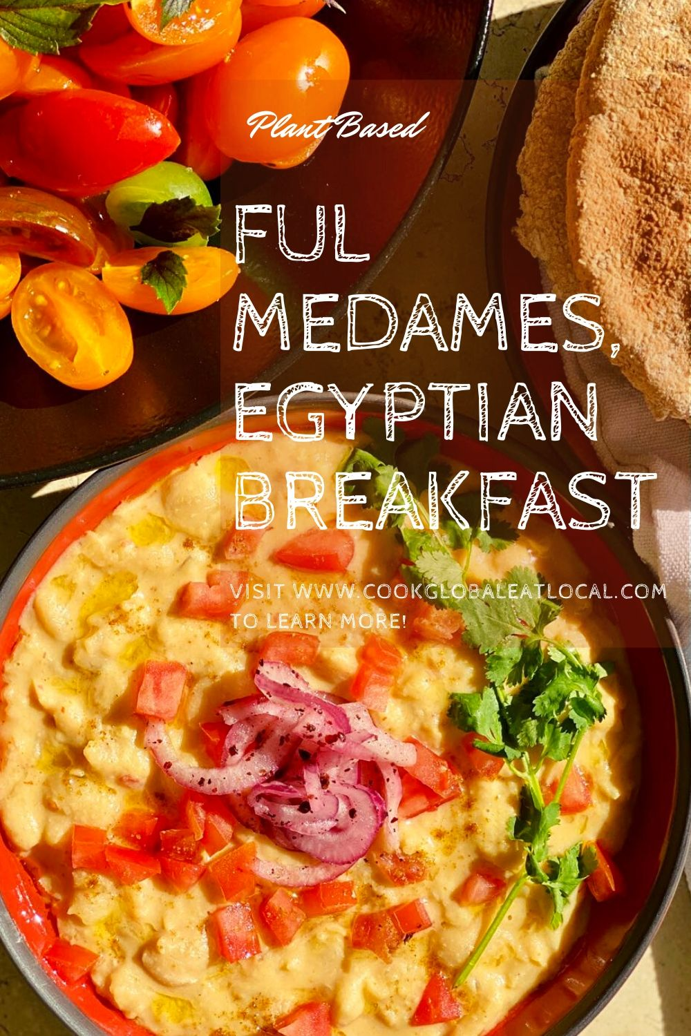 Ful Medames, a Hearty North African Breakfast Treat | cookglobaleatlocal.com