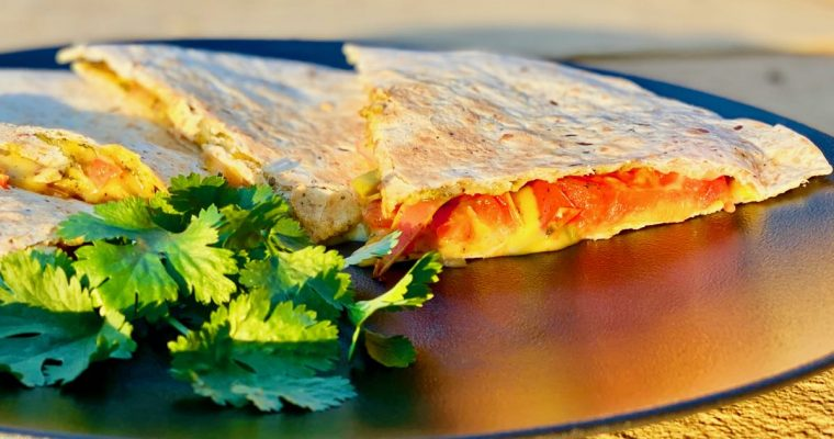 Spicy Mumbai Quesadillas | cookglobaleatlocal.com