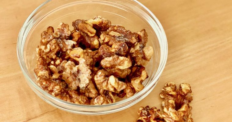 Quick, 10-Minute Candied Walnuts